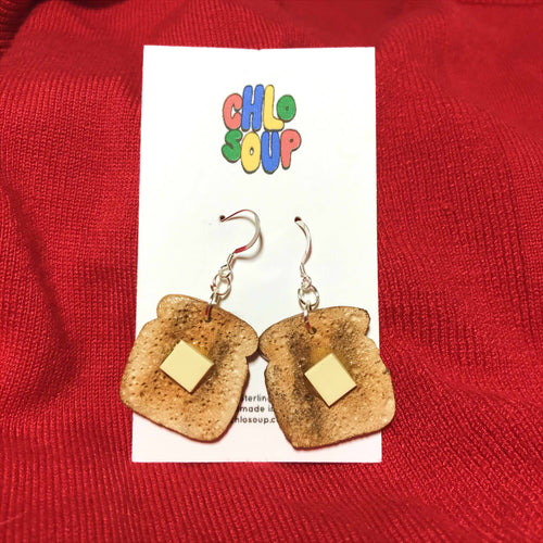 Toast Earrings