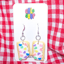 "Load image into Gallery viewer, Valentine's Day Heart Sprinkle ""Tot Part"" Earrings"