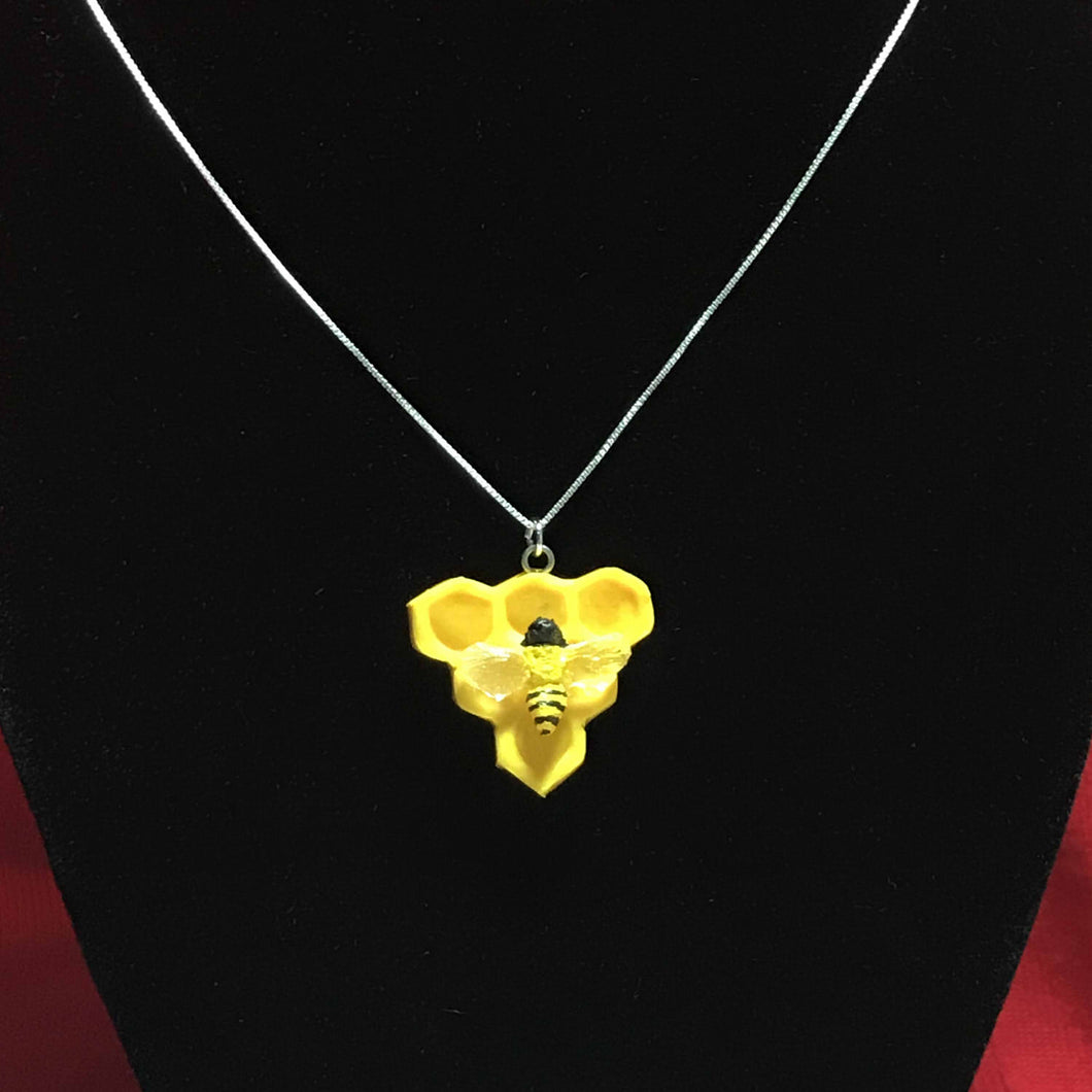 Triangle Honeycomb Pendant