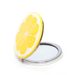 Lemon Compact Mirror