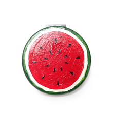 Load image into Gallery viewer, Watermelon Compact Mirror