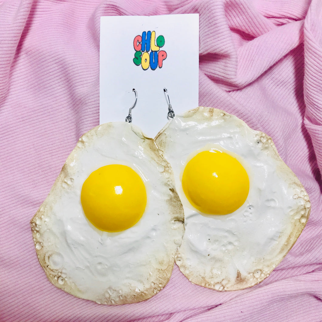 Jumbo Egg Earrings