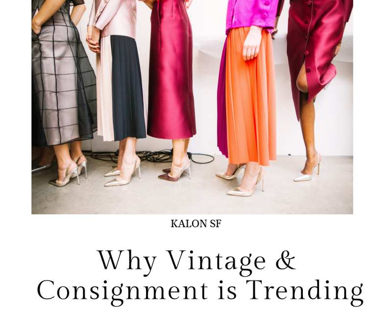 Why Vintage & Consignment is Trending