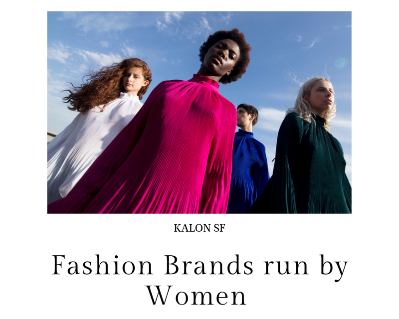 Fashion Brands Run By Women