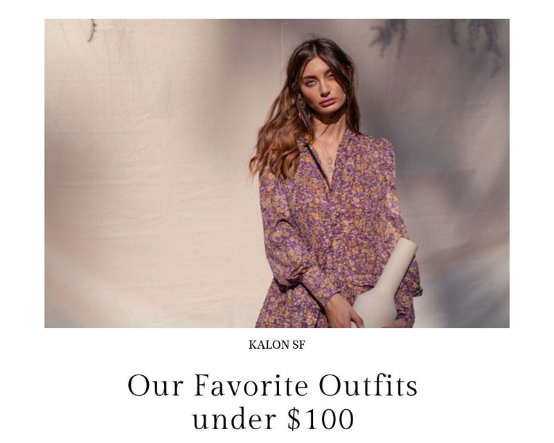 Our Favorite Outfits under $100!