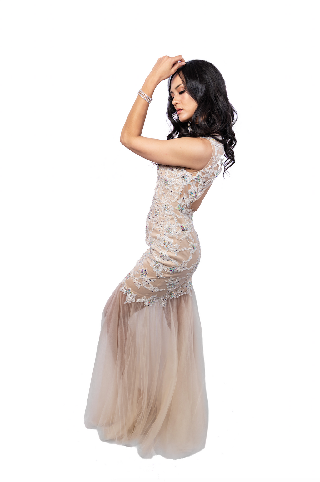 Sweetheart Beaded Prom Dress