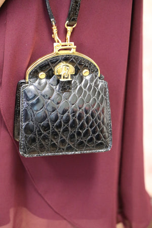 Italian Alligator Evening Bags