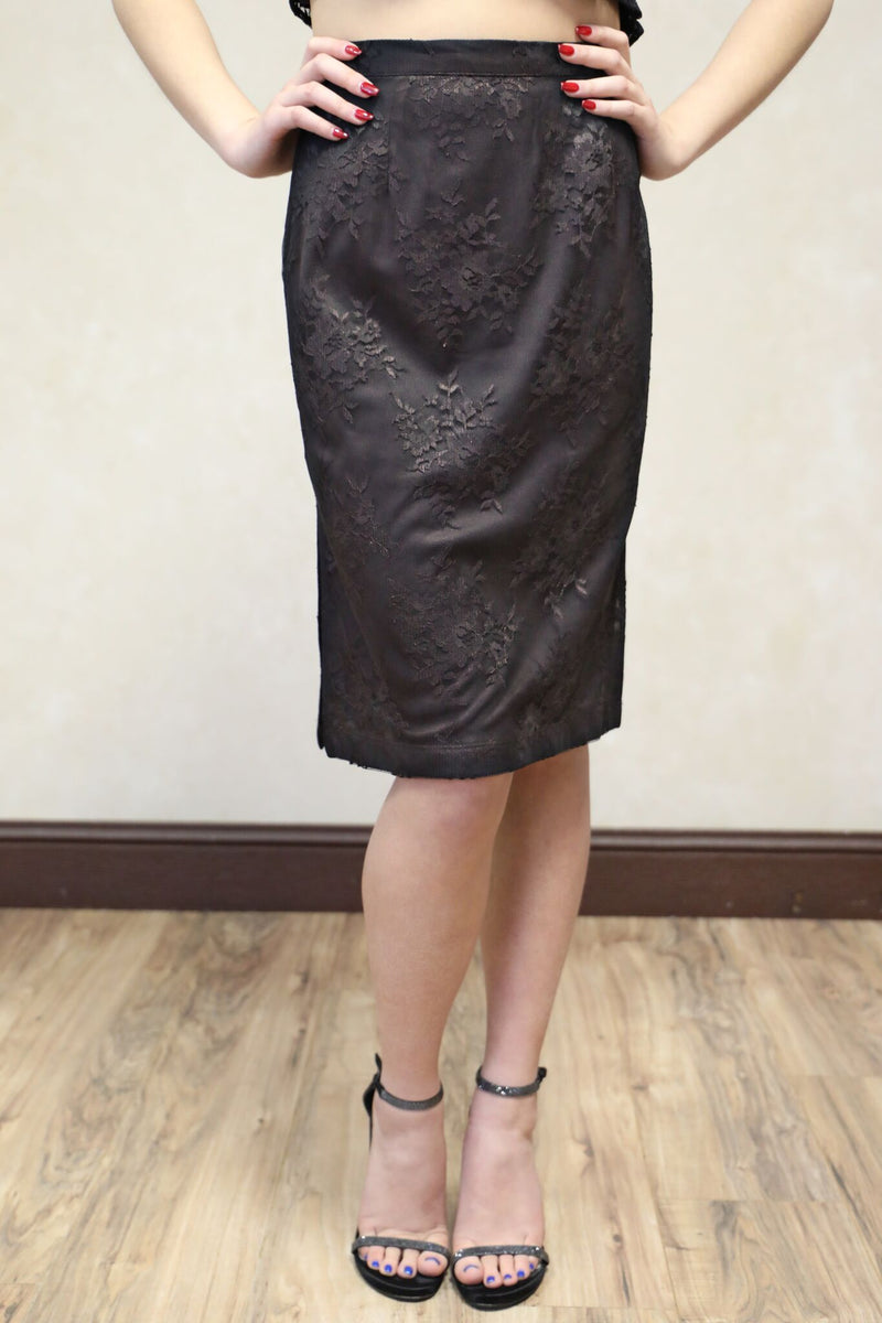 Florence Lace Pencil Skirt