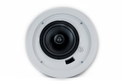 "Front View Quest 5"" Coaxial Speaker, 70/25 Volt transformer, High Style Without Grille w/ Back Box"