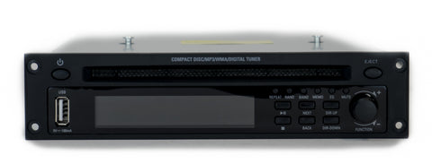 Front View Quest Multifunction CD Player And Digital FM Tuner Showing Inputs / Outputs