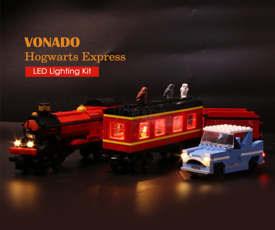 Lego built a driveable Hogwarts Express out of blocks, and it's amazing