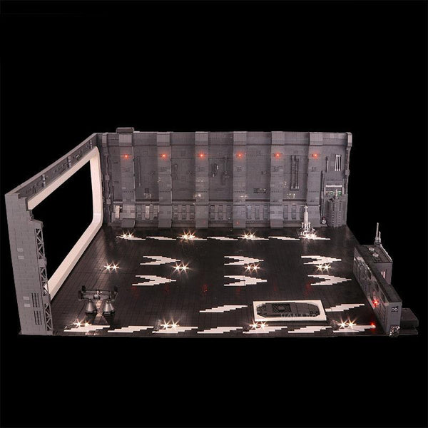 STAR WARS DOCKING BAY 327 HANGER MOC