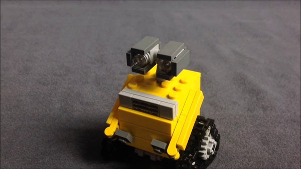 Build your own tiny mini Wall-E!