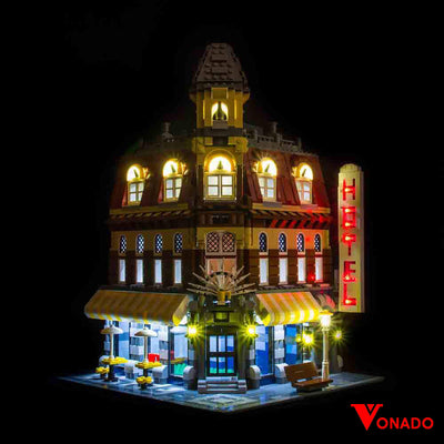 Vonado Cafe Corner #10182 Lego Led Light