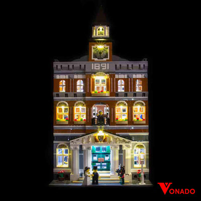 Town Hall #10224 Lego Lighting Kit - Vonado