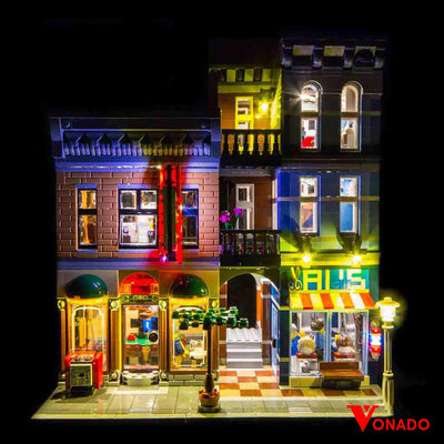 Vonado Detective's Office #10246 Lego Led Light