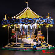 Vonado Carousel #10257  Lego Led Light