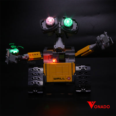 Vonado WALL•E #21303 Lego Led Light