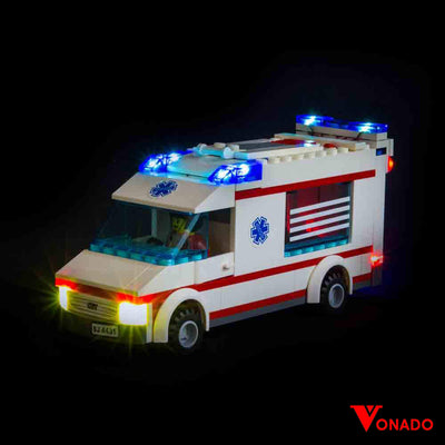 Vonado Ambulance #4431 Lego Led Light