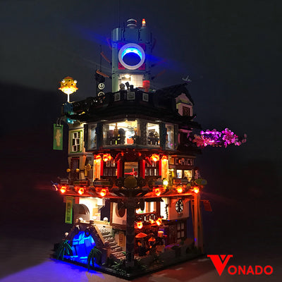 Vonado Ninjago City #70620 Lego Led Light