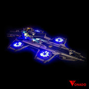Vonado The SHIELD Helicarrier #76042 Lego Led Light