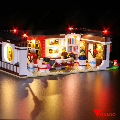 Lego Chinese Year Eve Family Dinner 2019 #80101 - Vonado