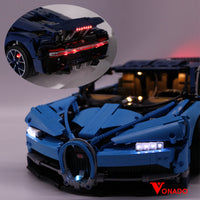 Vonado Bugatti Chiron #42083 Lego Led Lights