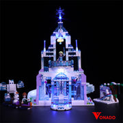 Vonado Elsa's Magical Ice Palace #41148 Lego Led Light
