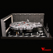 Star Wars Star Docking Bay 327 Hanger MOC for minifig scale UCS Falcon