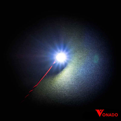 Vonado Bit Lights (Flashing White) 15cm (4 pack)