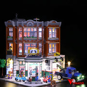 Corner Garage #10264 lego lights