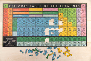 The Periodic Table of Elements Jigsaw Puzzle