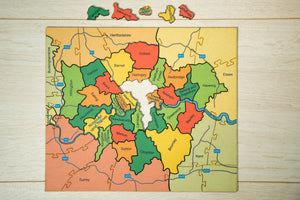 The London Boroughs Jigsaw Puzzle