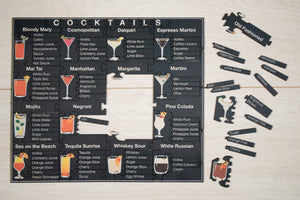 Cocktails Jigsaw Puzzle