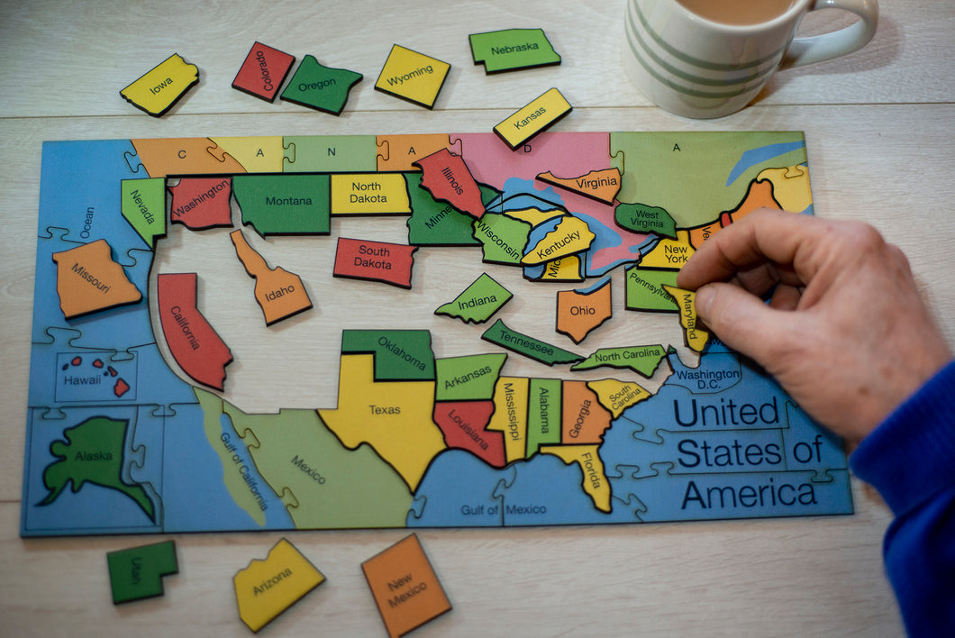 Large States of America Puzzle