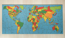Load image into Gallery viewer, Map of the World Puzzle