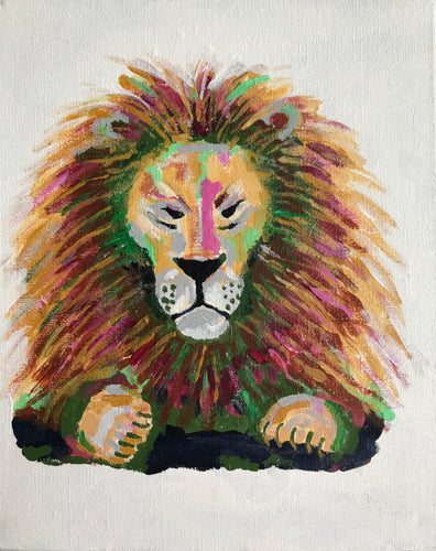 LENNY LION ORGINAL ARTWORK
