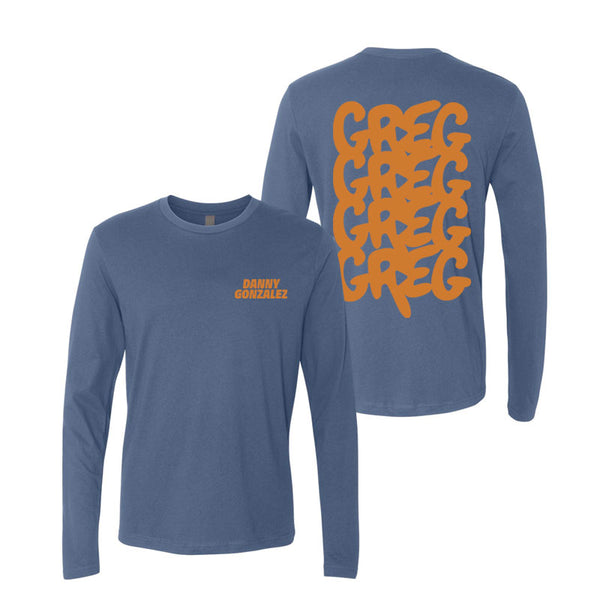 GREG Blue Long Sleeve Tee