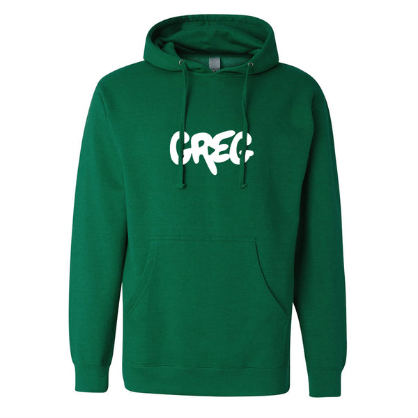 Greg 2.0 Heather Kelly Green Pullover Hoodie