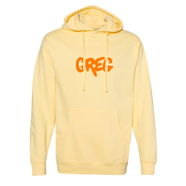 Greg 2.0 Light Yellow Pullover Hoodie