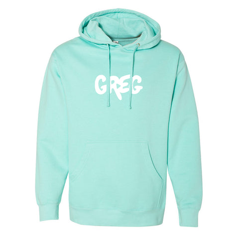 Greg 2.0 Mint Pullover Hoodie