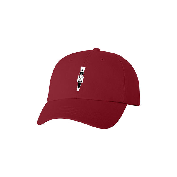 NUTCRACKER EMBROIDERED HAT (RED)