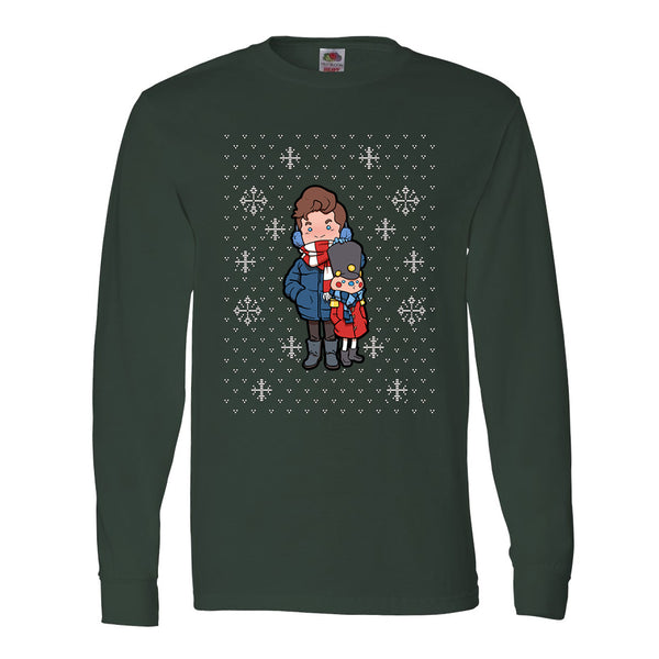 CARTOON NUTCRACKER HOLIDAY LONGSLEEVE
