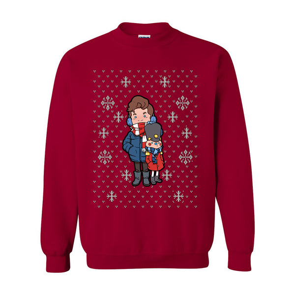CARTOON NUTCRACKER HOLIDAY SWEATSHIRT