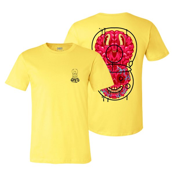Nutcracker Brain Yellow Tee