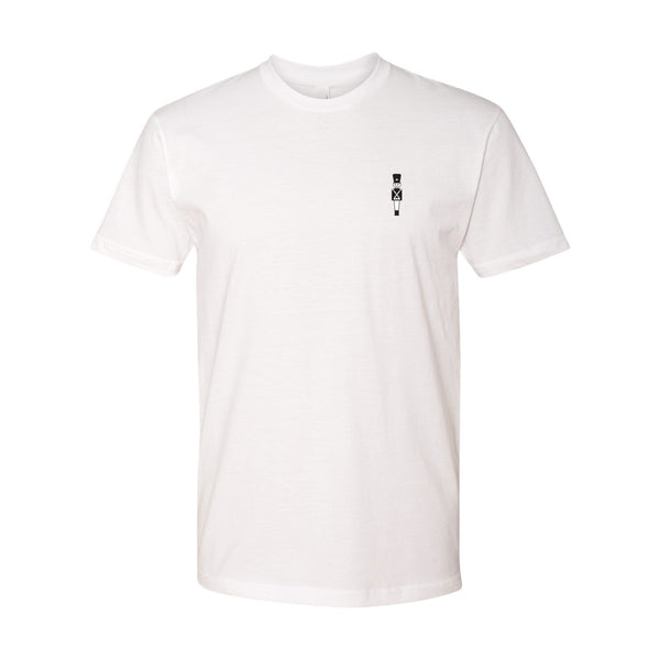 NUTCRACKER EMBROIDERED TEE (WHITE)