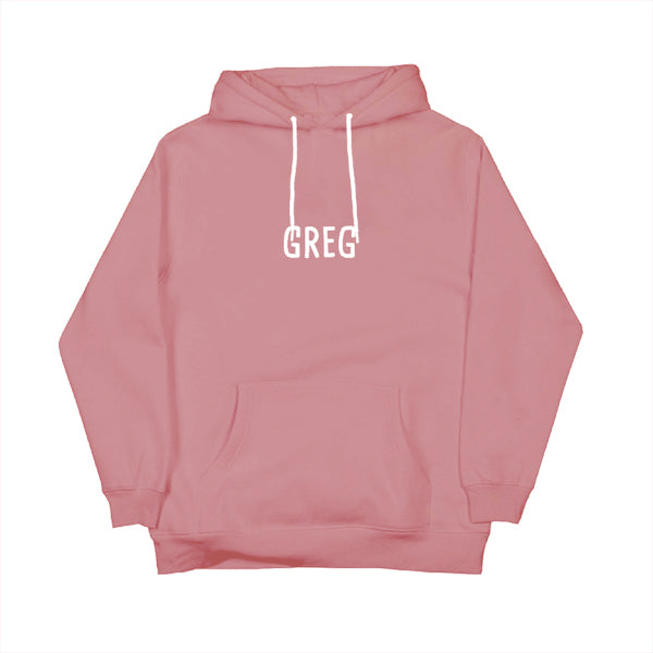 GREG PULLOVER HOODIE (DUSTY ROSE) v1
