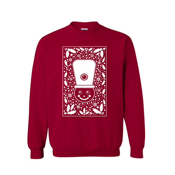 NUTCRACKER RED CREWNECK SWEATSHIRT