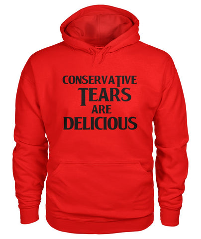 Image of Conservative Tears Are Delicious Hoodie