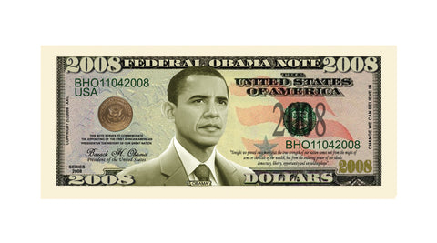 Image of Obama 2008 Bill